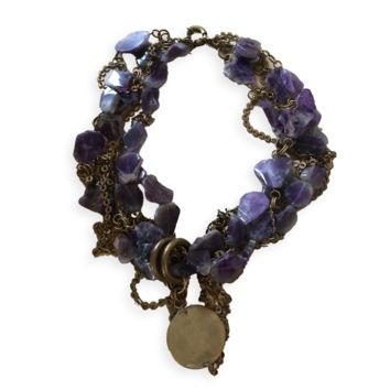 Age of Gods Amethyst Large Necklace