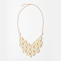 Ivory Daisy Tessellate Necklace