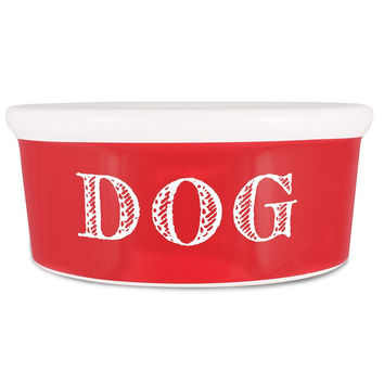 Cape Cod Ceramic Bowl | Red