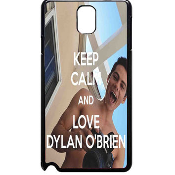 Cool Dylan O brien For Samsung Galaxy Note 3 Case ***