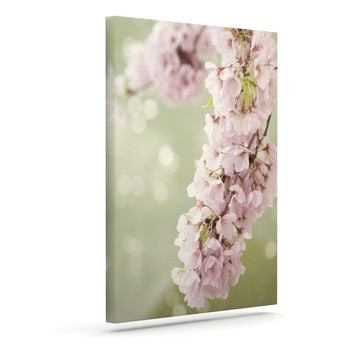 "Catherine McDonald ""Cherry Blossom"" Outdoor Canvas Wall Art"