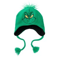 Dr. Seuss The Grinch Peruvian Hat - Men, Size: One Size (Green)