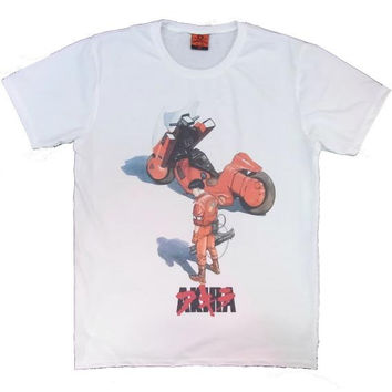 Japanese animation HEROS  Tshirt ( Akira ) ANIME MANGA Nihon Cool OtomoKatuhiro kaneda t-shirt Mens Men anime unisex Manga Cool shirts shirt