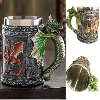Game of Thrones Flying Dragon Designed Bottle Cups Kitchenware Barware Mug Drinking Tools