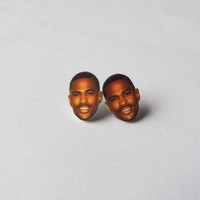 Big Sean Earrings Celebrity Studs Funny Novelty Gift