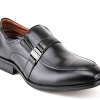 Ferro Aldo Men's 19512 Classic Belted Buckle Casual Loafers Dress Shoes