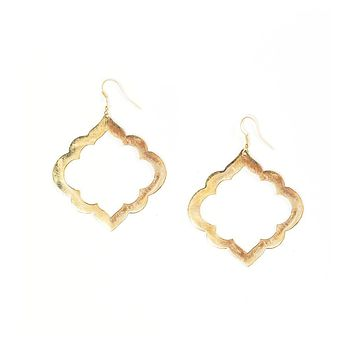 Ashram Window Earrings - Fair Trade