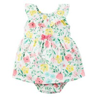 Baby Girl Carter's Floral Bodysuit Dress