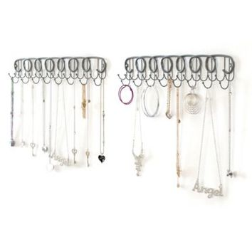 Wall Mount Jewelry Organizer (Set of 2)