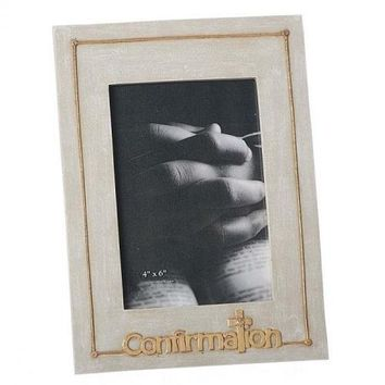 Roman Large Confirmation Photo Frame