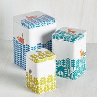 Critters Earth the Wait Container Set by ModCloth