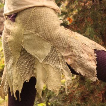 Tattered pixie skirt from the Fractal Forest by FractalWings
