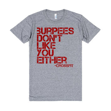 Crossfit: Burpees Don'T Like You Either