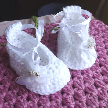 Free Crochet Patterns For Baby Converse Shoes : Best Baptism Gifts For Girls Products on Wanelo
