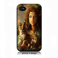 Unique Bobcat  iphone 4 case, Iphone case, Iphone 4s case, Iphone 4 cover, i phone case, i phone 4s case