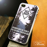 Neck Deep iPhone 4S 5S 5C SE 6S Plus Case