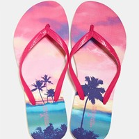 AEO PRINTED RUBBER FLIP FLOP