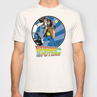 Bark to the Future T-shirt by Mike Handy Art