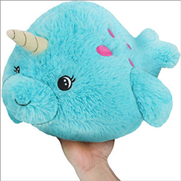 Mini Squishable Baby Narwhal: An Adorable Fuzzy Plush to Snurfle and Squeeze!