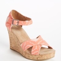 TOMS 'Geometric Ikat' Wedge | Nordstrom