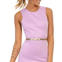 Party dresses > WONDERING HEART DRESS IN LILAC