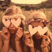 heart, hippie, indie, love - inspiring picture on Favim.com