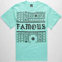 Famous Stars & Straps Redrum Mens T-Shirt Mint  In Sizes