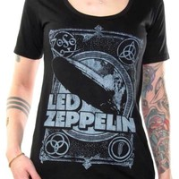 Led Zeppelin Girls T-Shirt - Zeppelin Square