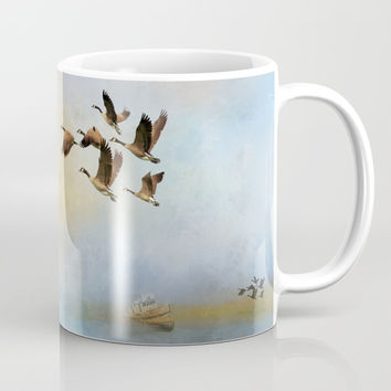 Lighthouse Bay II Mug by Theresa Campbell D'August Art