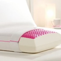 Pink Bubble Bed Pillow-Comfort Revolution