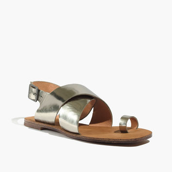 The Edie Metallic Sandal