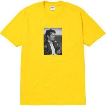 Supreme Michael Jackson Tee - Yellow