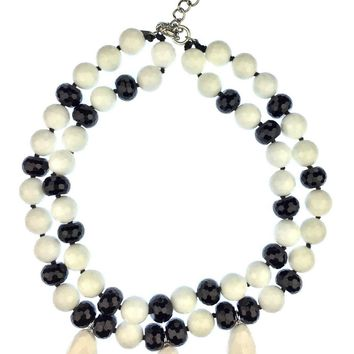Black and White Delights Necklace 2.0
