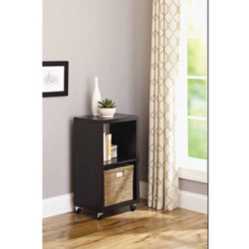 Walmart: Better Homes and Gardens 2-Cube Organizer, Espresso