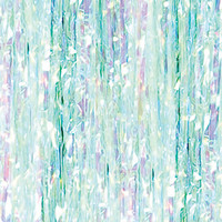 Frozen Iridescent Birthday Backdrop