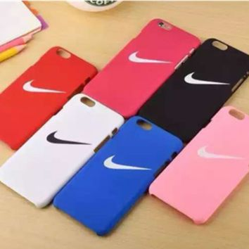 """""""Nike"""" Printed Colorful Iphone7 &7 Plus Cover Case +Gift  Box"""