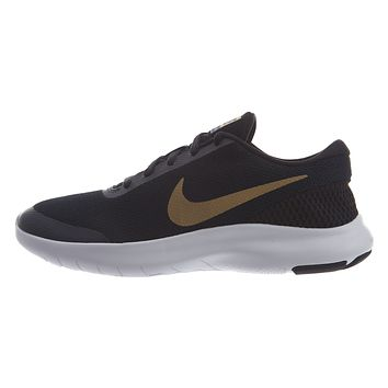 Nike Flex Sneakers Experience Black Gold Womens Style :908996
