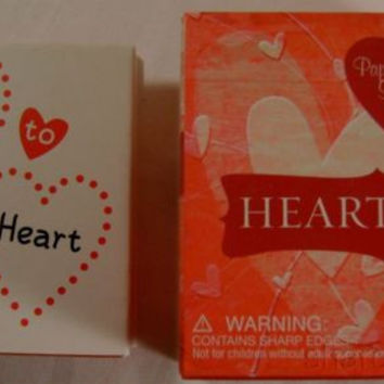 Set Heart Art Mini Kit Book Silicone Band Bracelets Stencils Stamp Love Red Pink