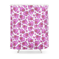 Society6 Be My Valentine Shower Curtain