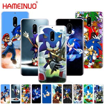 HAMEINUO Sonic the Hedgehog cover phone case for Nokia 9 8 7 6 5 3 Lumia 630 640 640XL 2018