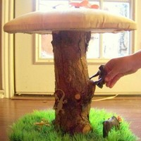 BUY 3, GET 1 FREE// 4 Toad Stools Mushroom Chairs gnome toadstool | Royalkane - Children's on ArtFire