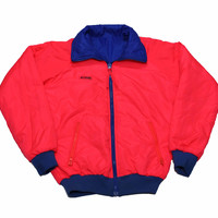 Vintage 90s Columbia Pink/Blue Reversible Skiing/Snowboarding Jacket Mens Size Small