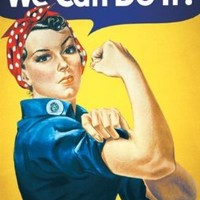 Rosie the Riveter - We Can Do It! Poster Art Print