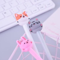 New Cartoon animal cat pet student gel pen kawaii stationery writing pens canetas material escolar office school supplies