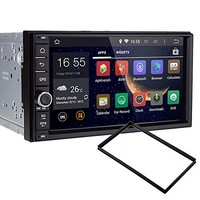 Pumpkin 10.1 inch Touchscreen 1024*600 Quad Core Android 5.1 2 Din Car DVD Player Adjustable Viewing Angle Touchscreen GPS Navigation with Backup Camera Support 3G/Wifi/iPod/DVR/OBD2/Mirror Link/SW Control