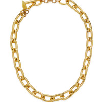 Alex Gold Chain Station Necklace