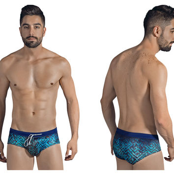 Clever Labyrinth Swim Briefs