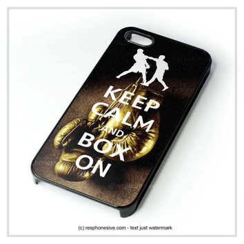 Keep Calm Wwe Boxing Gloves iPhone 4 4S 5 5S 5C 6 6 Plus , iPod 4 5 , Samsung Galaxy S3 S4 S5 Note 3 Note 4 , HTC One X M7 M8 Case