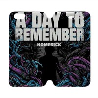 A DAY TO REMEMBER Wallet Case for iPhone 4/4S 5/5S/SE 5C 6/6S Plus Samsung Galaxy S4 S5 S6 Edge Note 3 4 5
