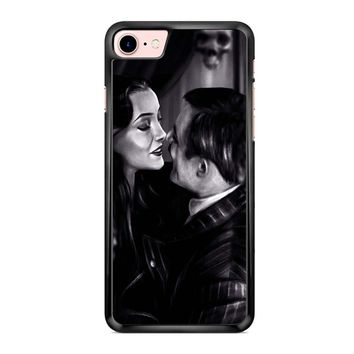 Morticia And Gomez The Addams Family iPhone 7 Case